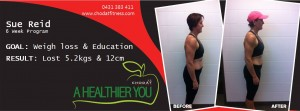 A Healthier You Weight loss