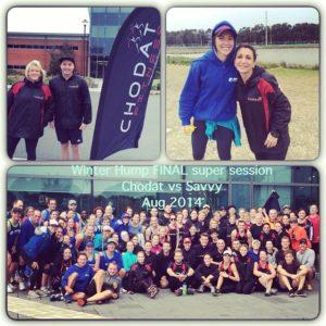 savvy fitness, group challenge