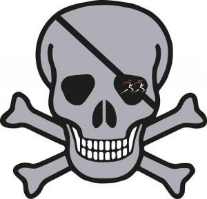 Silver Skull logo