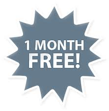 Receive 1 MONTH FREE!