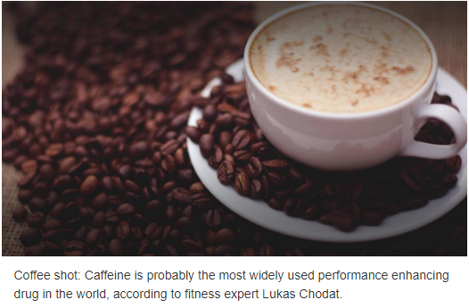 How caffeine affects training