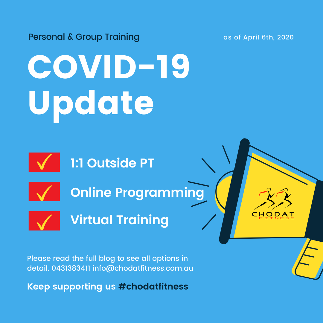PT & Group Training During COVID-19